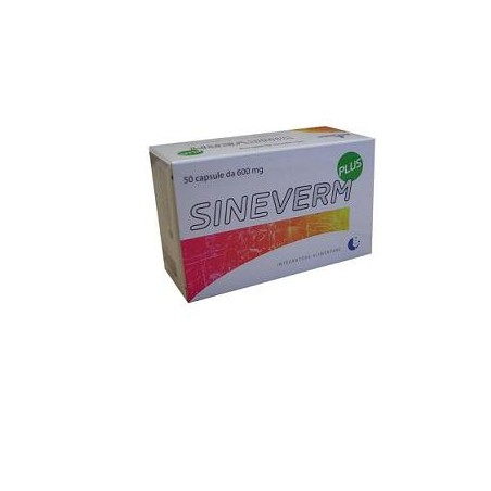 SINEVERM PLUS 50CPS 600MG