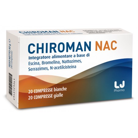 CHIROMAN NAC 20CPR+20CPR