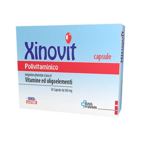 XINOVIT POLIVITAMINICO 30CPS