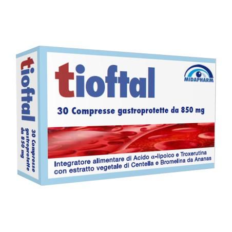 TIOFTAL 30CPR GASTROPROTETTE