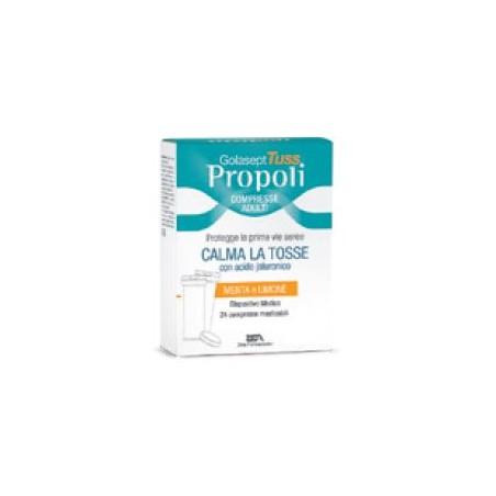 GOLASEPT TUSS PROPOLI DM 24CPR