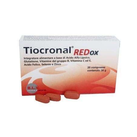 TIOCRONAL REDOX 20CPR