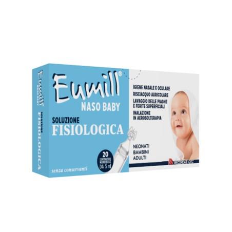 EUMILL NASO BABY SOL FISIOL20M