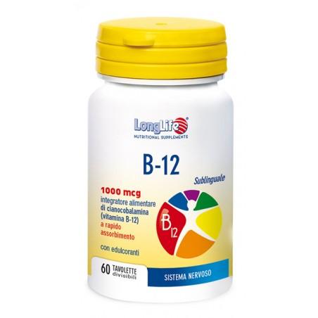 LONGLIFE B12 1000MCG 60TAV
