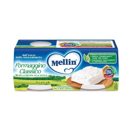 MELLIN BABY FORMAG CLASS 4X80G