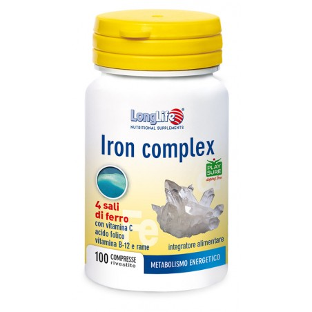 LONGLIFE IRON COMPLEX 100CPR