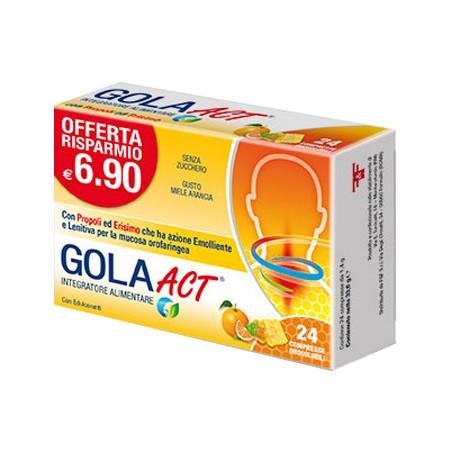 GOLA ACT MIELE ARANCIA 24CPR