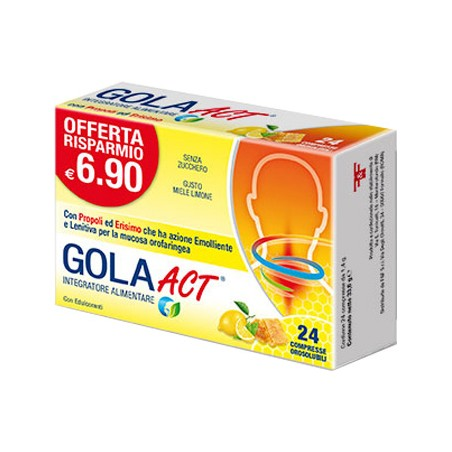 GOLA ACT MIELE LIMONE 24CPR