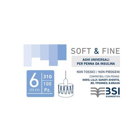SOFT&FINE AGO PEN G31 6MM100PZ