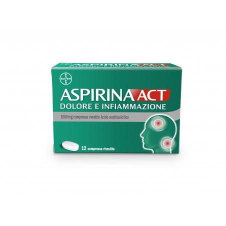ASPIRINAACT DOL INF%12CPR 1G