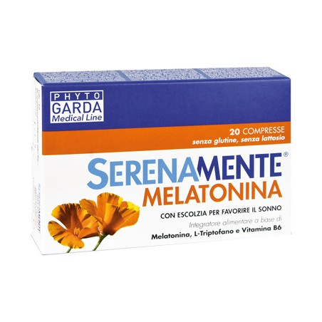 SERENAMENTE MELATONINA 20CPR