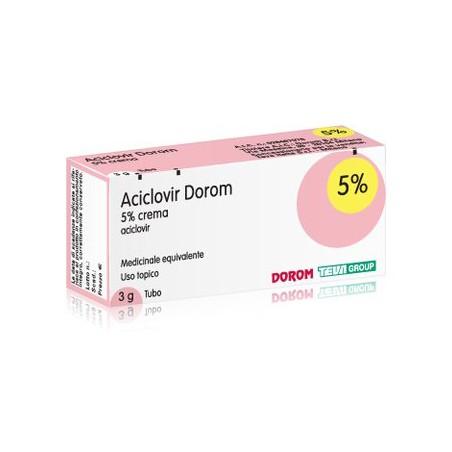 ACICLOVIR DOROM%CREMA 3G 5%