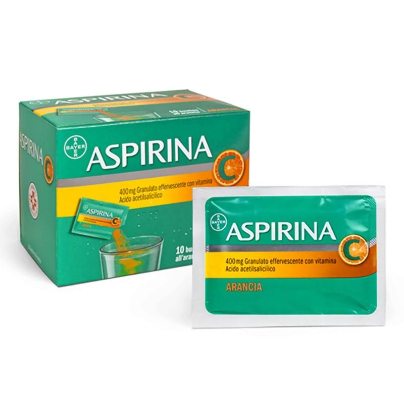ASPIRINA%GRAT VIT.C 10BS 400MG