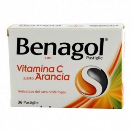 BENAGOL VIT.C%36PAST ARANCIA
