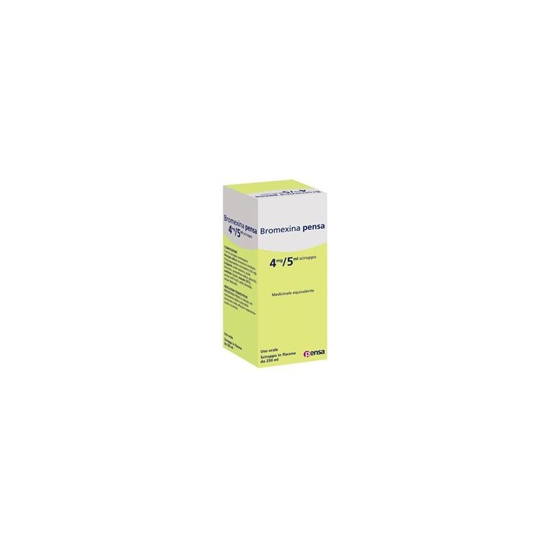 BROMEXINA PE%SCIR 250ML 4MG/5M