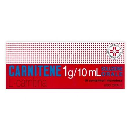 CARNITENE%OS 10FL 1G MONOD