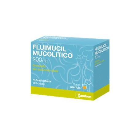 FLUIMUCIL MUC.%OS 30BUST 200MG