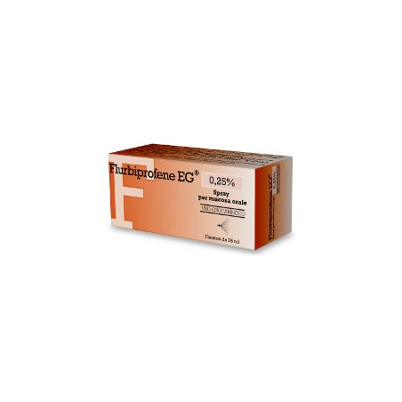 FLURBIPROFENE EG%OS SPRAY 15ML