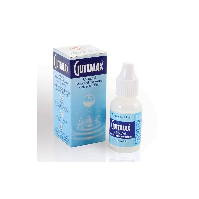 GUTTALAX%OS GTT 15ML 7,5MG/ML