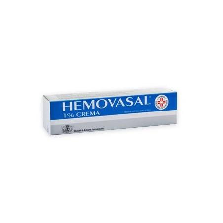 HEMOVASAL%CREMA 30G 1%