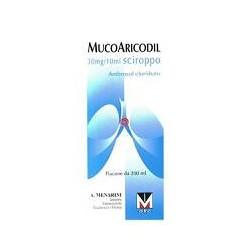 MUCOARICODIL%SCIR 600MG 200ML