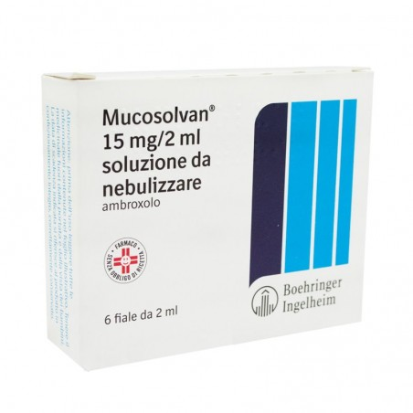 MUCOSOLVAN%NEBUL 6F 15MG 2ML