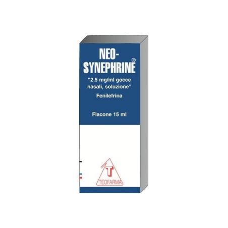 NEOSYNEPHRINE%GTT 15ML 2,5MG/M