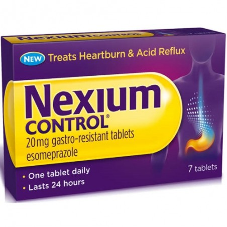 NEXIUM CONTROL%7CPR GASTR 20MG