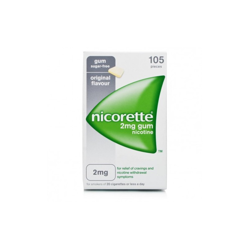 NICORETTE%105GOMME MAST 2MG