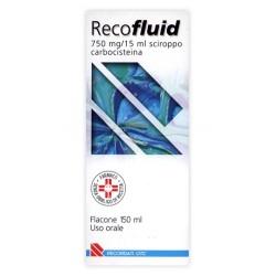 RECOFLUID%SCIR FL 150ML 750MG