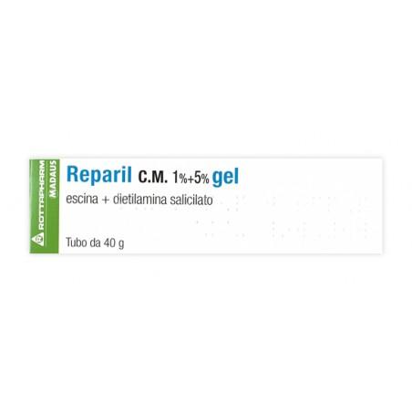 REPARIL GEL CM%40G 1%+5%