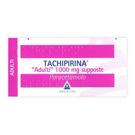 TACHIPIRINA%AD 10SUPP 1000MG