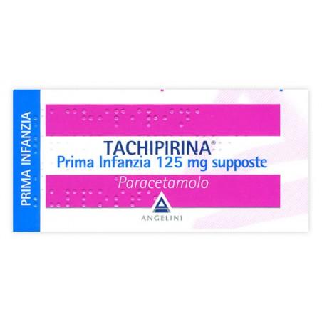 TACHIPIRINA%PR INF 10SUPP 125M