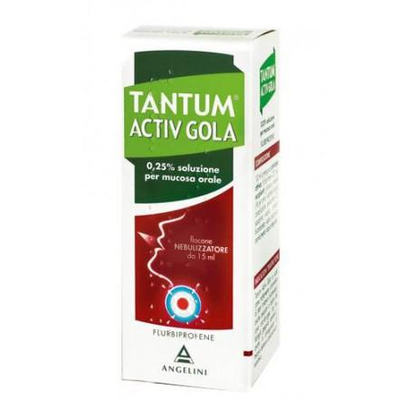 TANTUM ACTIV GOLA%NEB 15ML0,25