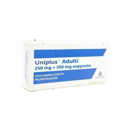 UNIPLUS%AD 10SUPP 250MG+350MG