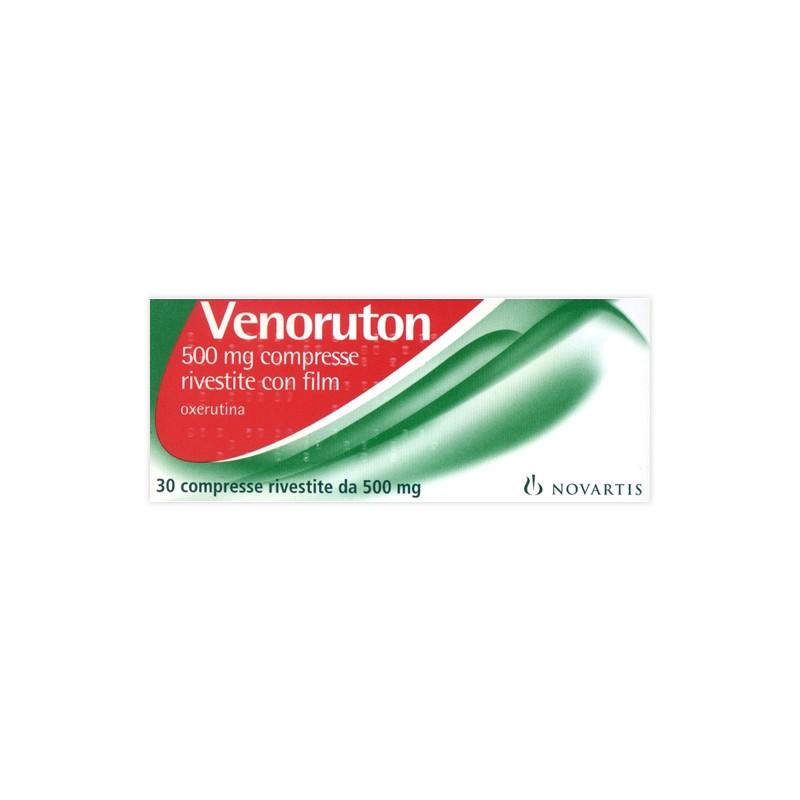 VENORUTON%30CPR RIV 500MG