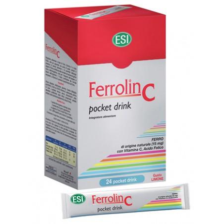 FERROLIN C POCKET DRINK 24BUST