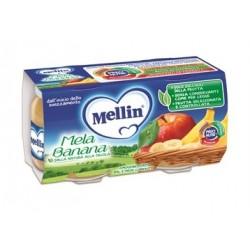 MELLIN OMOG MELA/BANANA 2X100G
