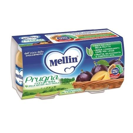 MELLIN OMOG PRUGNA 2X100G