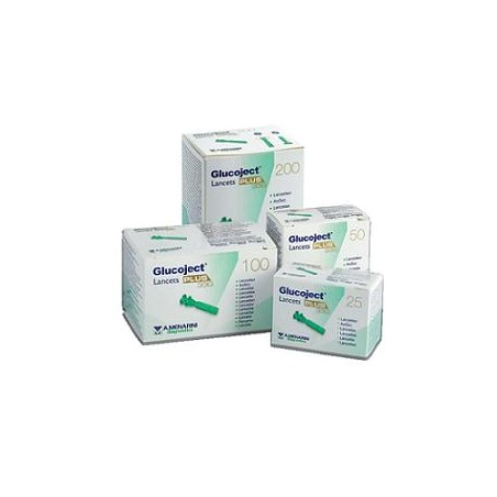 GLUCOJECT LANCETS PLUS G33 50P