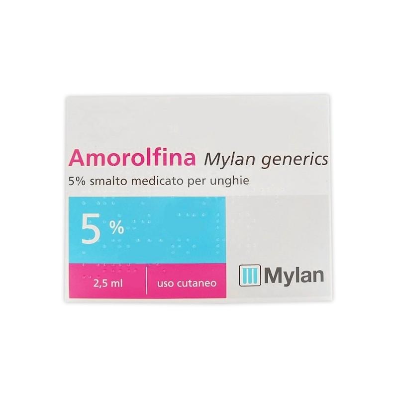 AMOROLFINA MG%SMALTO 2,5ML 5%