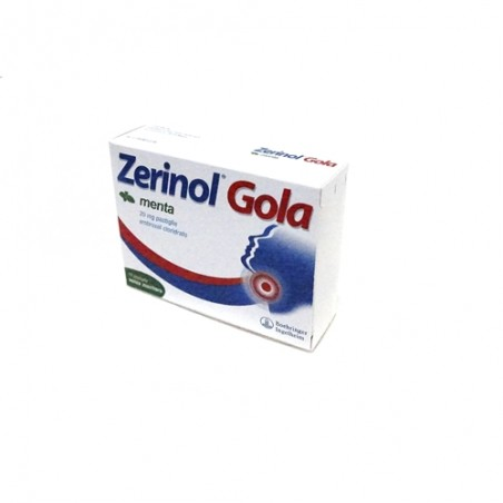 ZERINOL GOLA MENTA%18PAST 20MG