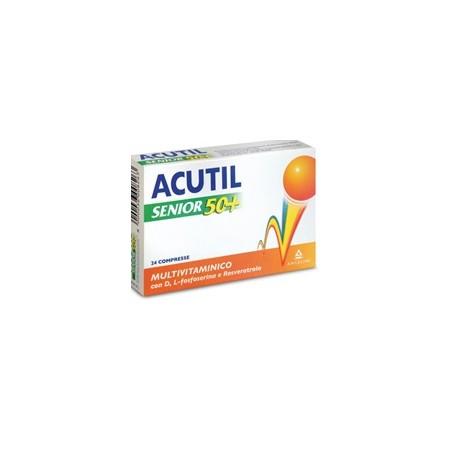 ACUTIL MULTIVIT SENIOR50+24CPR