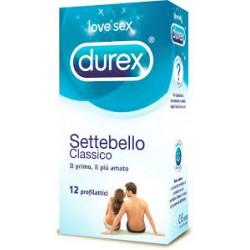 DUREX SETTEBELLO CLASSICO 12PZ