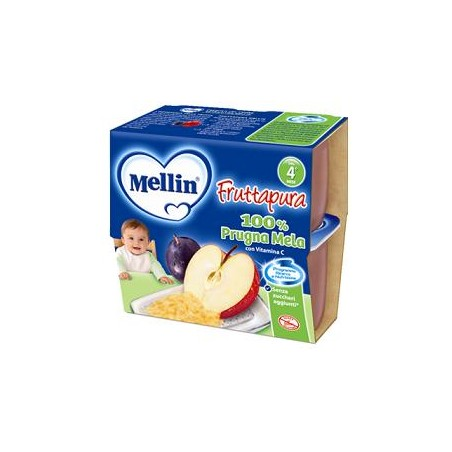 MELLIN FRUT PURA PRU/MEL4X100G