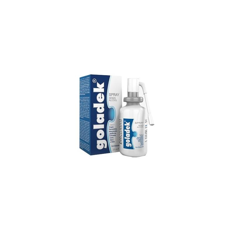 GOLADEK SPRAY NO ALCOOL 25ML