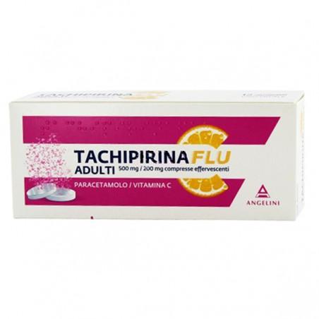 TACHIPIRINAFLU%12CPR 500+200MG