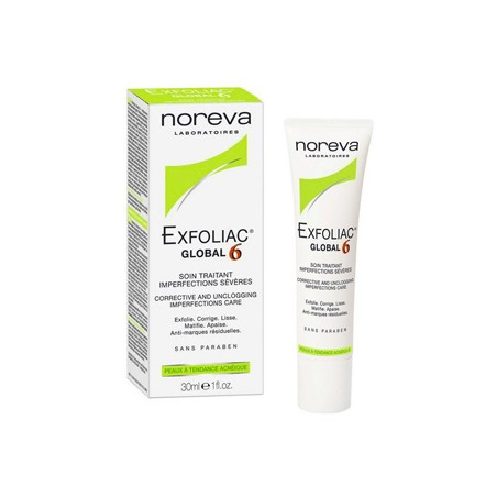 EXFOLIAC GLOBAL 6 CREMA 30ML