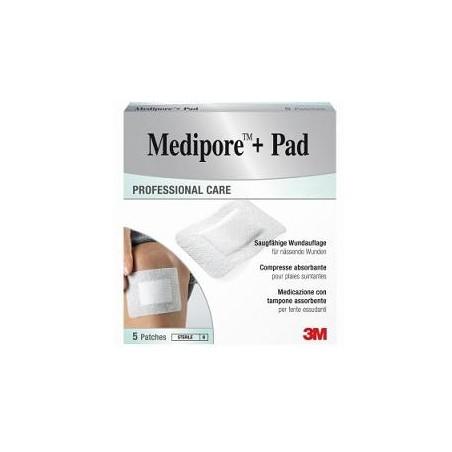 MEDIPORE+PAD MED 5X7,2CM 5PZ