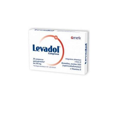 LEVADOL CPR 20CPR 270MG